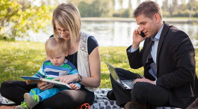 Gia đình là động lực để các doanh nhân làm việc.