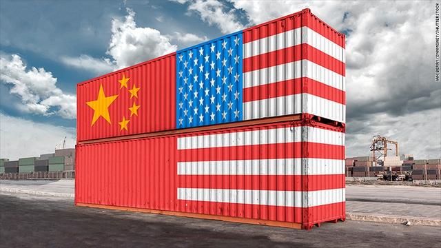 Donald Trump đe dọa đánh thuế cao các hàng hóa nhập khẩu từ Trung Quốc. Ảnh: CNN