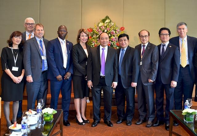 Thủ tướng và các đại biểu tại Diễn đàn VBF