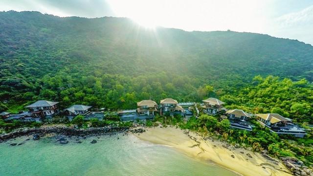 Đây là khu biệt thự cao cấp, sang trọng bậc nhất của khu nghỉ dưỡng InterContinental Danang Sun Peninsula Resort.