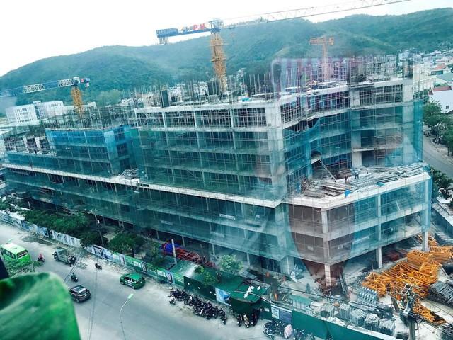 Tiến độ dự án P.H Nha Trang.
