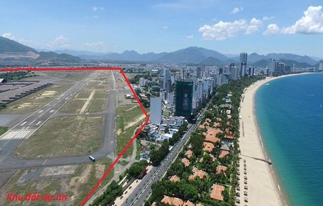 Vị trí dự án Khu trung tâm đô thị - dịch vụ - tài chính - du lịch Nha Trang nằm sát đường Trần Phú, đối diện bãi biển Nha Trang.