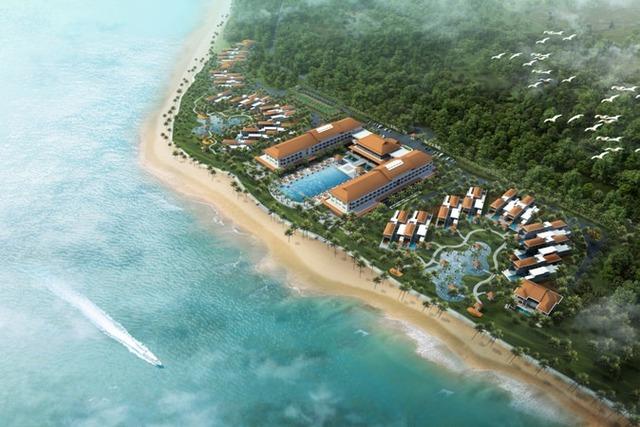 Dự án Vinpearl Hội An Resort & Villas của Vingroup có tổng vốn đầu tư gần 5.000 tỷ đồng.