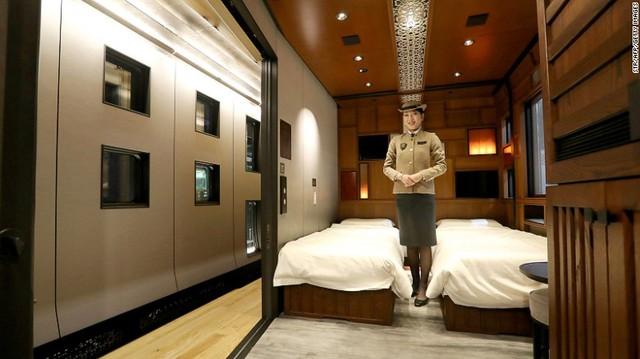 Phòng đắt nhất có giá tới 1.050.000 Yên Nhật, tương đương 9.338 USD.