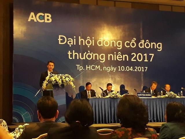 Chủ tịch HĐQT ngân hàng ACB - ông Trần Hùng Huy.