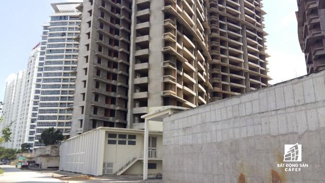 Đây là dự án có số lượng căn hộ lớn nhất còn dang dở tại khu Nam Sài Gòn.