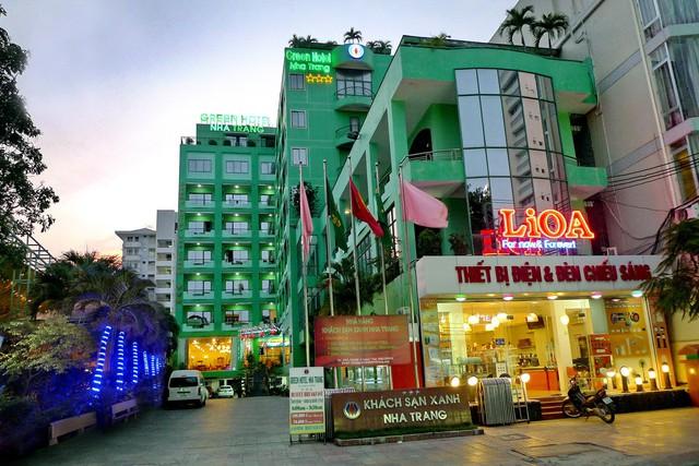 Khách sạn Green Hotel Nha Trang tại số 6 Hùng Vương