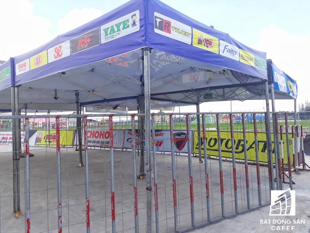 Được biết, khởi công từ năm 2011 mãi đến năm 2016 thì hạng mục đầu tiên là Trường đua xe Happy Land mới được đưa vào hoạt động.