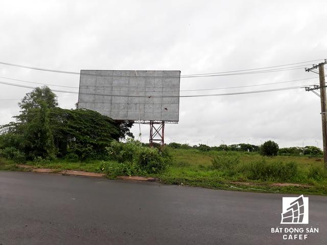 Cảnh đìu hiu của rất nhiều dự án bên trong khu đô thị Nhơn Trạch, nhiều chuyên gia cho rằng các doanh nghiệp đang ngắc ngoải chấp nhận trả lãi vay ngân hàng giữ đất chờ những tín hiệu mới từ thị trường nhờ vào sân bay Long Thành.