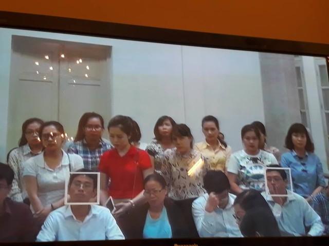 """Phiên tòa sáng 1/9: Một số nhân viên OceanBank CN Hải Phòng """"tố"""" bị lãnh đạo ép nhận tiền chi lãi ngoài - Ảnh 1."""