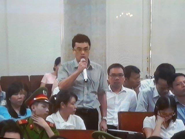 Phiên tòa chiều 8/9: Mâu thuẫn lời khai giữa ông Trần Thanh Quang và các bị cáo tại tòa - Ảnh 1.