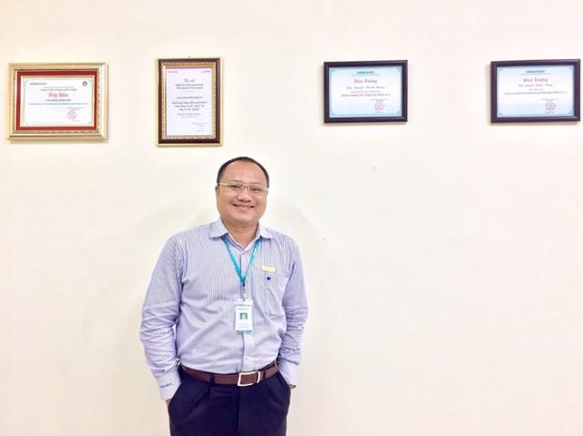 Tác giả Nguyễn Thanh Quang vừa đoạt Giải Khuyến khích tại cuộc thi viết Nghề Tài chính ngân hàng: Thử thách và Vinh quang do CafeF phối hợp với báo điện tử Trí thức trẻ tổ chức (hình ảnh do tác giả cung cấp)