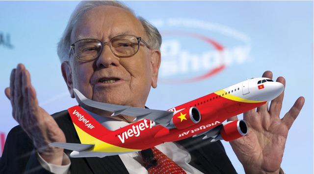 Khi Warren Buffett cũng gom mua cổ phiếu hàng không, giá nào cho Vietjet? - Ảnh 1.