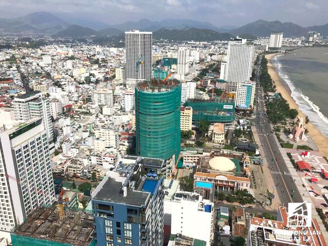 Dự án tọa lạc tại một vị trí khá đẹp trên tuyến đường ven biển TP. Nha Trang.