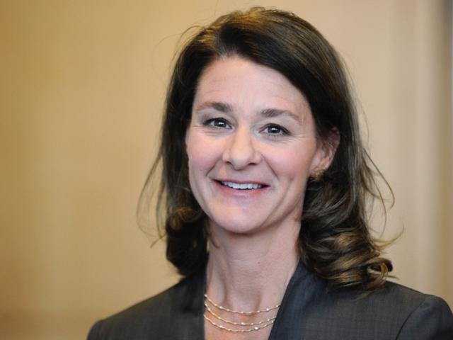 Bà Melinda Gates đã có nhiều chia sẻ hữu ích về sự thành công cho những sinh viên mới tốt nghiệp.