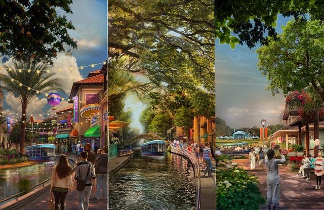Cùng với sự đặc sắc trong thiết kế, công viên Kim Quy hội tụ những trò chơi công nghệ cao hàng đầu thế giới. Nơi đây sẽ bao gồm những trò chơi thực tế ảo, game giải trí công nghệ cao, hiện đại.