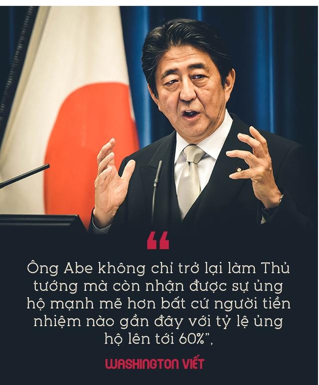Thủ tướng Nhật Bản Shinzo Abe: Trở lại đỉnh vinh quang từ vũng lầy, làm nên lịch sử sau khi mất tất cả - Ảnh 4.