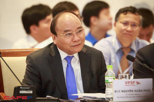 Thủ tướng Nguyễn Xuân Phúc nhắn nhủ doanh nghiệp Việt ra khơi bình an (Ảnh: Thành Đạt)