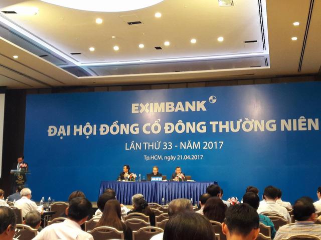 ĐHĐCĐ thường niên Eximbank 2017