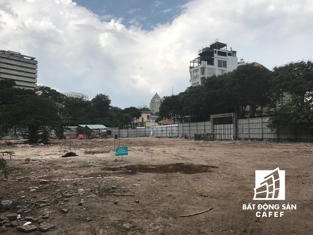 Dự án SCJ Tower sau khi khởi công, thăm dò địa chất xong vẫn chưa triển khai gì nhiều.