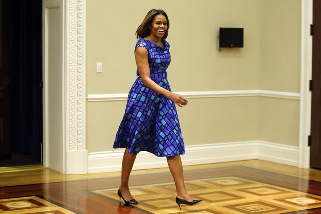Điều đặc biệt, Michelle Obama luôn tự tin với sự lựa chọn của mình.