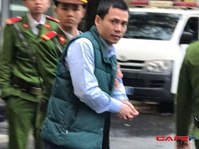 Bị cáo Nguyễn Xuân Thắng - cựu Phó giám đốc Khối nguồn vốn NH Đại dương.