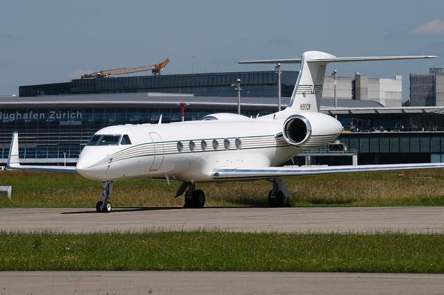 Chiếc phi cơ Gulfstream V đắt đỏ