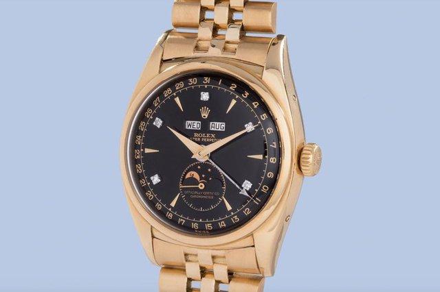Chiếc đồng hồ có giá trị cao bởi từng thuộc về Bảo Đại, vị hoàng đế phong kiến cuối cùng của Việt Nam và là một trong những người đam mê đồng hồ Rolex huyền thoại.