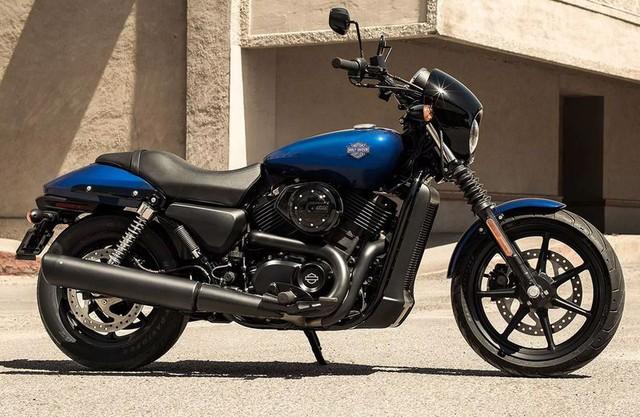 Chiếc xe Street 500 của Harley-Davidson.