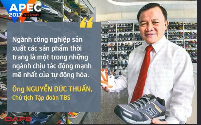 Ông Nguyễn Đức Thuấn, Chủ tịch Tập đoàn TBS, thừa nhận những khó khăn với ngành công nghiệp sản xuất các sản phẩm thời trang của ông. Theo các đại biểu tham gia thảo luận, chìa khóa để giải quyết vấn đề này nằm ở quá trình đào tạo nguồn nhân lực, cải cách hệ thống an sinh xã hội và doanh nghiệp phải cải cách để bảo vệ người lao động.