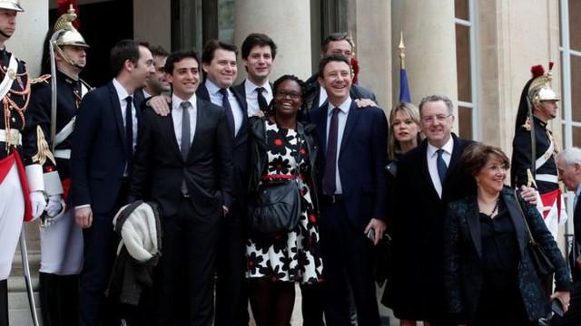Thành viên chính phủ của Tổng thống Pháp Macron.