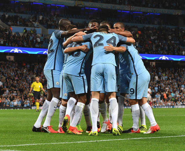 2. Manchester City - 146,9 triệu bảng. Ảnh: Daily Star.