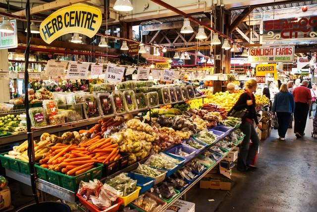 Các sản phẩm được nuôi trồng bằng các phương pháp nông nghiệp hữu cơ. Ảnh: JustLuxe.