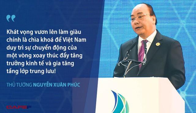 Thủ tướng: Khát vọng vươn lên làm giàu chính là chìa khoá để Việt Nam duy trì sự chuyển động của một vòng xoay thúc đẩy tăng trưởng - Ảnh 1.