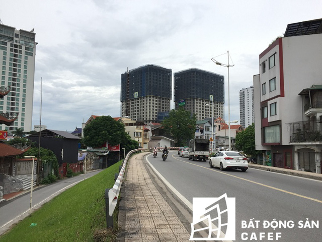 Dự án D'. Le Roi Soleil - Quảng An xây dựng trên diện tích là 4.046 m2, tương đương với mật độ 44%.