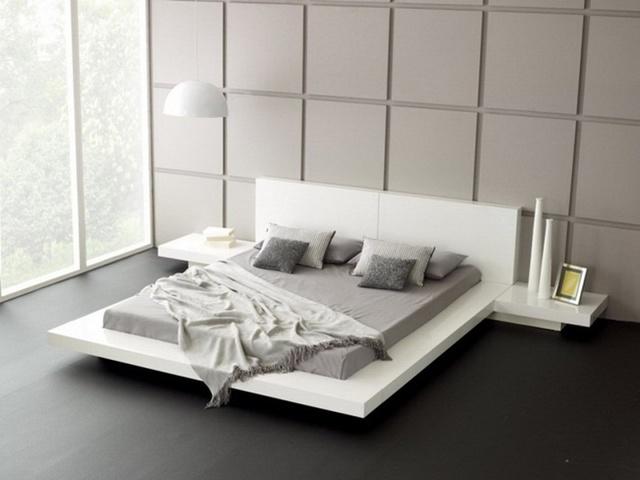 Giường nổi phù hợp với rất nhiều không gian và phong cách thiết kế, chỉ cần bạn chú ý một chút đến màu sắc, kiểu dáng và sự kết hợp chung trong căn phòng.