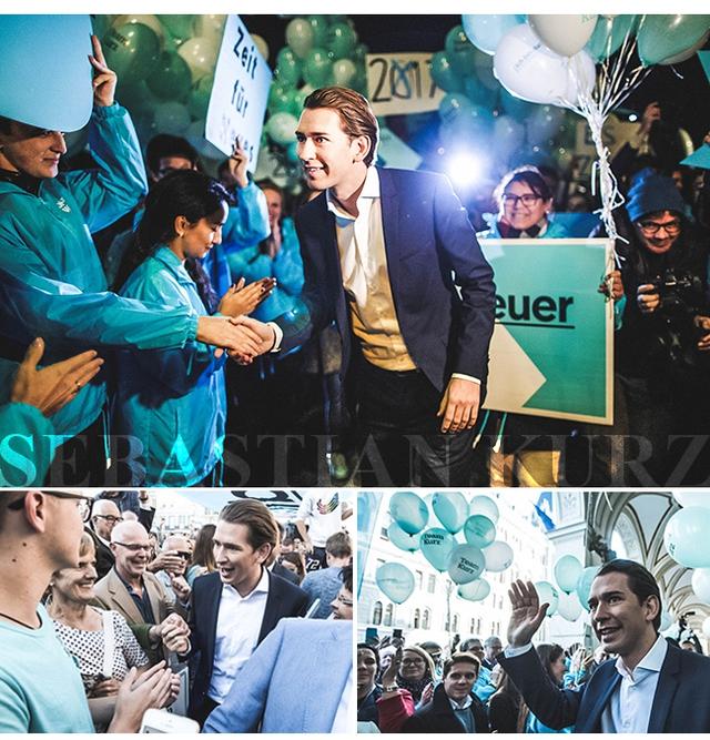 """27 tuổi làm Ngoại trưởng, 31 tuổi sắp trở thành Thủ tướng, """"làn gió mới"""" Sebastian Kurz là ai? - Ảnh 4."""