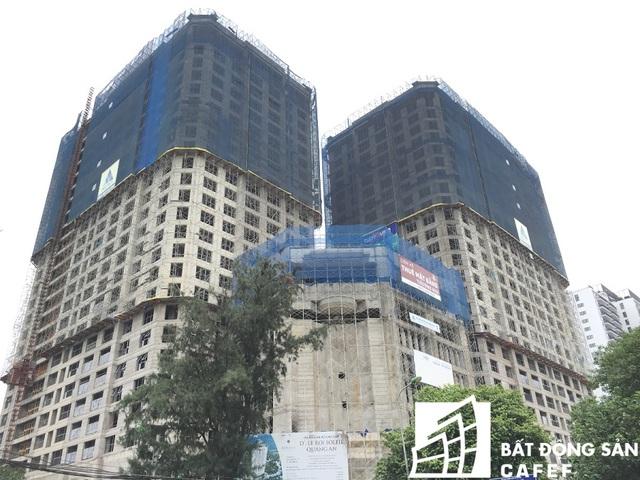 Quy mô gồm hai tòa tháp căn hộ cao 25 tầng, một tòa tháp dịch vụ 8 tầng và 5 tầng hầm để xe, tổng số 498 căn hộ.