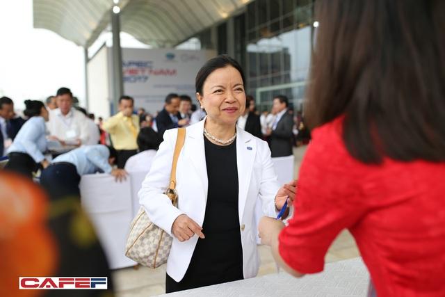 Bà Mai Thanh tại Hội nghị Thủ tướng và Doanh nghiệp 2017