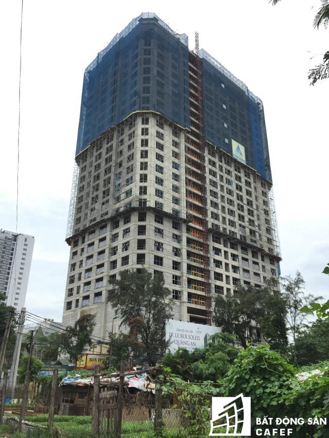 Hiện công trình đã hoàn thiện phần thô, dự kiến bàn giao nhà vào cuối năm 2018.