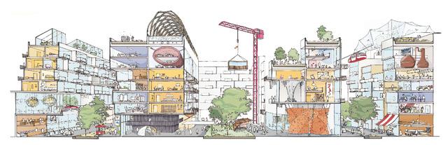 Theo quy hoạch, nó sẽ nằm ở phía đông khu vực bờ hồ Ontario. Thành phố công nghệ mới của Sidewalk Labs dường như sẽ thân thiện với người đi bộ.