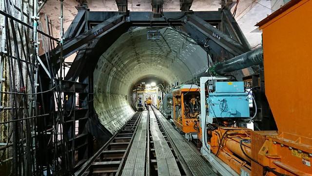 Tuyến ngầm trong Metroline 1 TPHCM có sự tham dự của FECON.