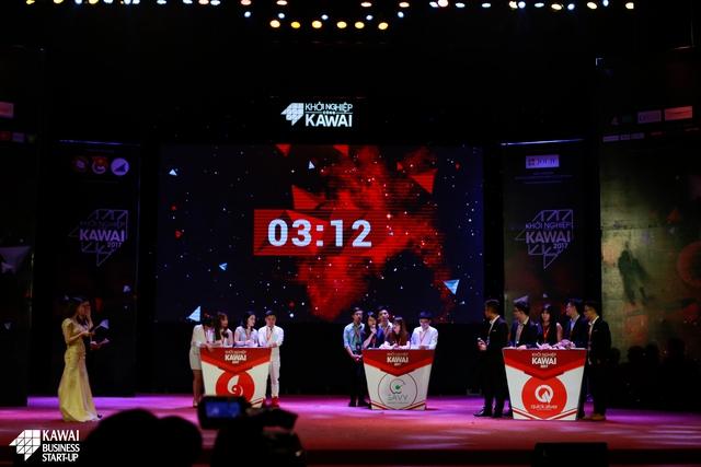 Mubahi, Quick Sliver và 9Slide đã xuất sắc lọt vào top 3 của chung kết Khởi nghiệp cùng Kawai 2017.