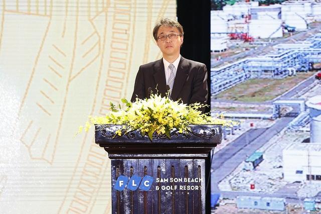 Ông Hironobu Kitagawa, Trưởng đại diện Văn phòng Xúc tiến thương mại Nhật Bản tại Hà Nội tiết lộ con số đáng chú ý: số lượng dự án đầu tư của các doanh nghiệp Nhật Bản tại Thanh Hóa đã lên đến con số 14, với tổng vốn đầu tư cao hơn cả tổng vốn đầu tư của các doanh nghiệp Nhật Bản tại thành phố Hồ Chí Minh và Hà Nội cộng lại, đứng đầu cả nước.