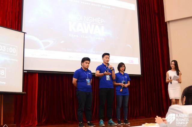 Đội 50mm Vietnam với những câu trả lời khéo léo đến từ Hội đồng Ban giám khảo.