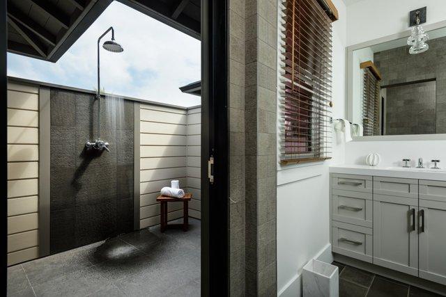 Các căn hộ có vòi tắm ngoài trời.