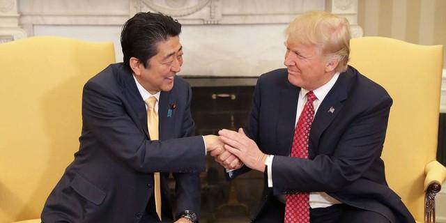 Tổng thống Trump và Thủ tướng Nhật Bản Shinzo Abe