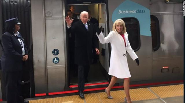 Cựu Phó tổng thống Joe Biden và chuyến tàu cuối cùng trong sự nghiệp chính trị.