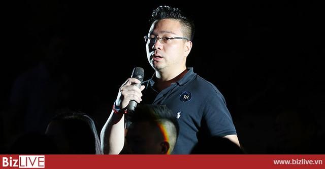 Ông Dương Văn Chung, Giám đốc đầu tư Công ty Chứng khoán MBS, phát biểu tại tọa đàm. Ảnh: Chu Hoàn