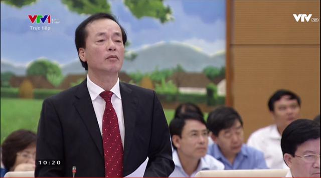 [Trực tiếp] Bộ trưởng Phạm Hồng Hà nói gì về dự án BĐS quảng cáo đáng sống nhưng thực tế không phải thế - Ảnh 1.